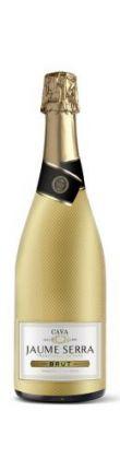 Cava Jaume Serra 'Gold Bottle' Brut Nature Méthode Traditionnelle